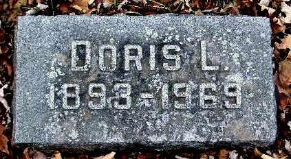 WOOD, DORIS L - Calhoun County, Michigan | DORIS L WOOD - Michigan Gravestone Photos