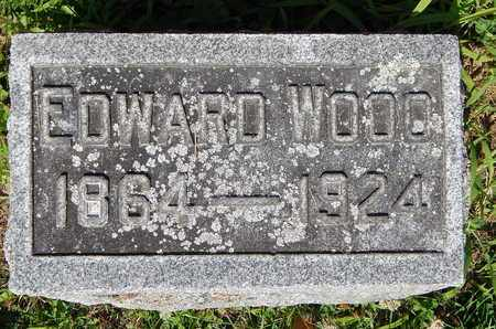 WOOD, EDWARD - Calhoun County, Michigan | EDWARD WOOD - Michigan Gravestone Photos