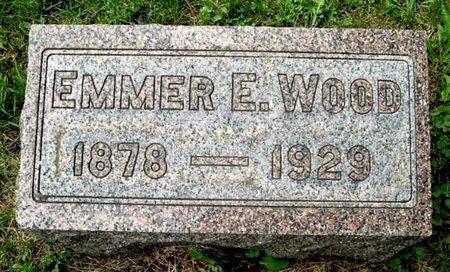 WOOD, EMMER E - Calhoun County, Michigan | EMMER E WOOD - Michigan Gravestone Photos