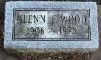 WOOD, GLENN E - Calhoun County, Michigan | GLENN E WOOD - Michigan Gravestone Photos