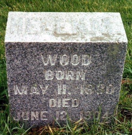 WOOD, HELEN M. - Calhoun County, Michigan | HELEN M. WOOD - Michigan Gravestone Photos