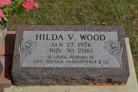 WOOD, HILDA V. - Calhoun County, Michigan | HILDA V. WOOD - Michigan Gravestone Photos