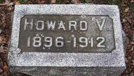 WOOD, HOWARD V - Calhoun County, Michigan | HOWARD V WOOD - Michigan Gravestone Photos