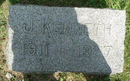 WOOD, J. KENNETH - Calhoun County, Michigan   J. KENNETH WOOD - Michigan Gravestone Photos