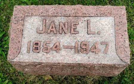 WOOD, JANE L - Calhoun County, Michigan | JANE L WOOD - Michigan Gravestone Photos
