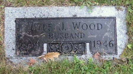 WOOD, LYLE J - Calhoun County, Michigan | LYLE J WOOD - Michigan Gravestone Photos
