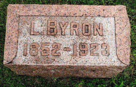 WOOD, L. BYRON - Calhoun County, Michigan   L. BYRON WOOD - Michigan Gravestone Photos