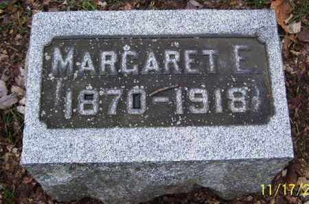 WOOD, MARGARET E - Calhoun County, Michigan | MARGARET E WOOD - Michigan Gravestone Photos