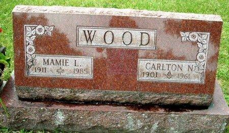 WOOD, CARLTON N - Calhoun County, Michigan | CARLTON N WOOD - Michigan Gravestone Photos