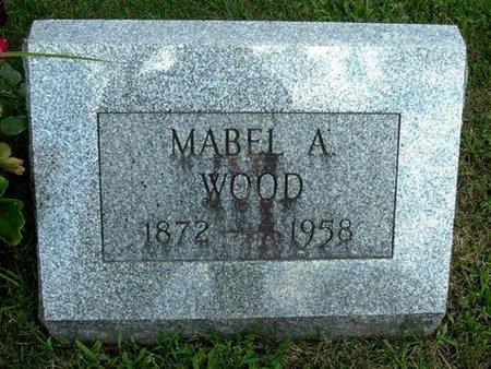 WOOD, MABEL A - Calhoun County, Michigan | MABEL A WOOD - Michigan Gravestone Photos