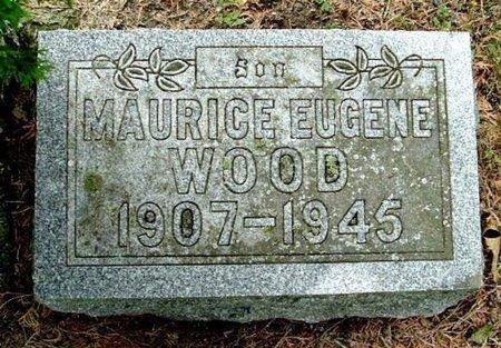 WOOD, MAURICE E - Calhoun County, Michigan | MAURICE E WOOD - Michigan Gravestone Photos