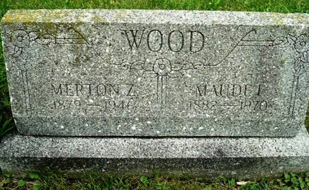 WOOD, MERTON Z - Calhoun County, Michigan | MERTON Z WOOD - Michigan Gravestone Photos