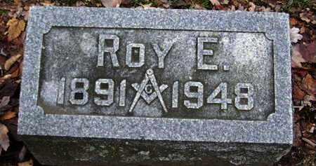 WOOD, ROY E - Calhoun County, Michigan   ROY E WOOD - Michigan Gravestone Photos