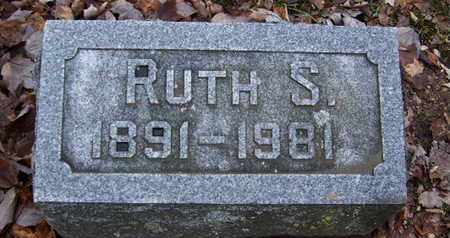 WOOD, RUTH S - Calhoun County, Michigan | RUTH S WOOD - Michigan Gravestone Photos