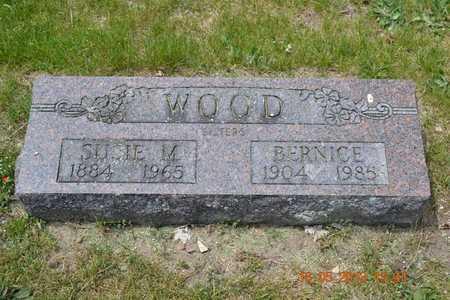 WOOD, SUSIE M. - Calhoun County, Michigan | SUSIE M. WOOD - Michigan Gravestone Photos