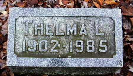 WOOD, THELMA - Calhoun County, Michigan | THELMA WOOD - Michigan Gravestone Photos