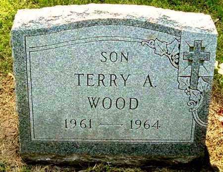 WOOD, TERRY A - Calhoun County, Michigan | TERRY A WOOD - Michigan Gravestone Photos