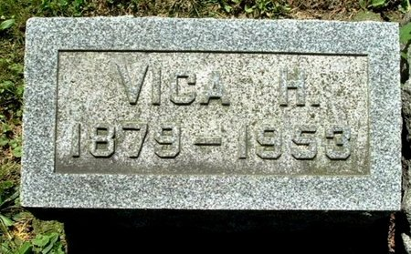 WOOD, VICA H - Calhoun County, Michigan | VICA H WOOD - Michigan Gravestone Photos