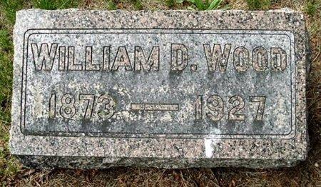 WOOD, WILLIAM D - Calhoun County, Michigan | WILLIAM D WOOD - Michigan Gravestone Photos