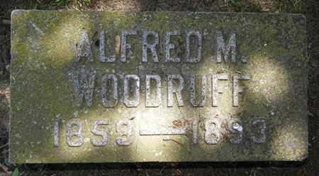 WOODRUFF, ALFRED M - Calhoun County, Michigan   ALFRED M WOODRUFF - Michigan Gravestone Photos