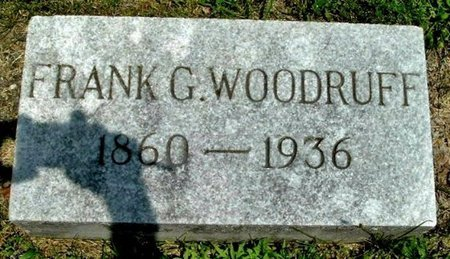 WOODRUFF, FRANK G - Calhoun County, Michigan | FRANK G WOODRUFF - Michigan Gravestone Photos