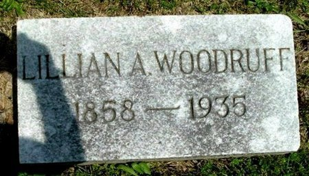 WOODRUFF, LILLIAN A - Calhoun County, Michigan | LILLIAN A WOODRUFF - Michigan Gravestone Photos