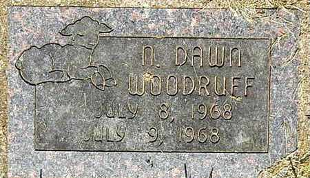 WOODRUFF, NANCY D - Calhoun County, Michigan   NANCY D WOODRUFF - Michigan Gravestone Photos