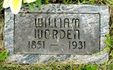 WORDEN, WILLIAM - Calhoun County, Michigan | WILLIAM WORDEN - Michigan Gravestone Photos
