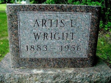 WRIGHT, ARLIS L. - Calhoun County, Michigan | ARLIS L. WRIGHT - Michigan Gravestone Photos