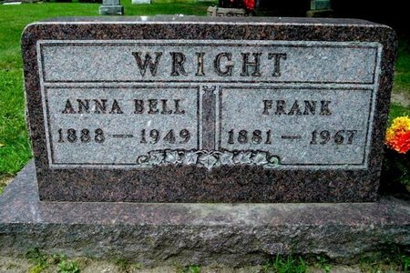 WRIGHT, ANNA BELL - Calhoun County, Michigan | ANNA BELL WRIGHT - Michigan Gravestone Photos