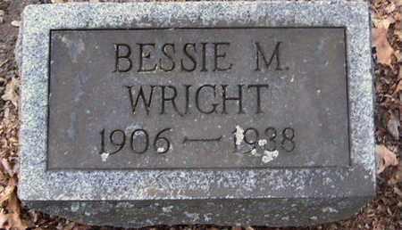 WRIGHT, BESSIE - Calhoun County, Michigan | BESSIE WRIGHT - Michigan Gravestone Photos