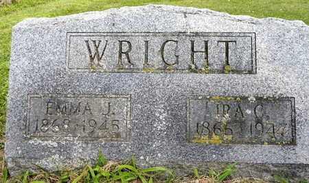 WRIGHT, IRA C - Calhoun County, Michigan | IRA C WRIGHT - Michigan Gravestone Photos
