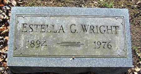 WRIGHT, ESTELLA G - Calhoun County, Michigan   ESTELLA G WRIGHT - Michigan Gravestone Photos