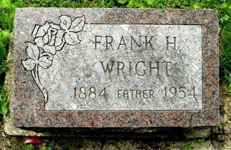 WRIGHT, FRANK H - Calhoun County, Michigan | FRANK H WRIGHT - Michigan Gravestone Photos
