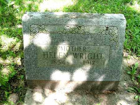 WRIGHT, HELEN - Calhoun County, Michigan | HELEN WRIGHT - Michigan Gravestone Photos