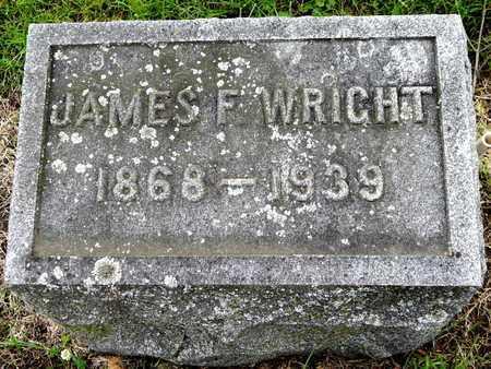 WRIGHT, JAMES F - Calhoun County, Michigan   JAMES F WRIGHT - Michigan Gravestone Photos
