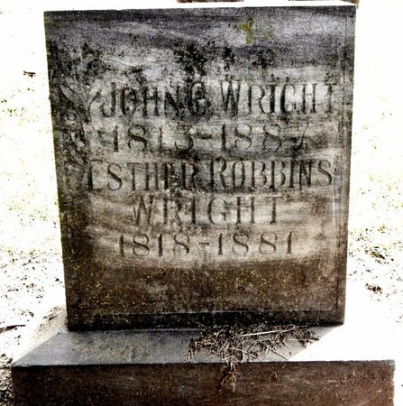 WRIGHT, ESTHER - Calhoun County, Michigan | ESTHER WRIGHT - Michigan Gravestone Photos