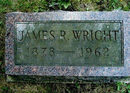 WRIGHT, JAMES R. - Calhoun County, Michigan | JAMES R. WRIGHT - Michigan Gravestone Photos