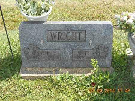 WRIGHT, BETTY ANN - Calhoun County, Michigan | BETTY ANN WRIGHT - Michigan Gravestone Photos