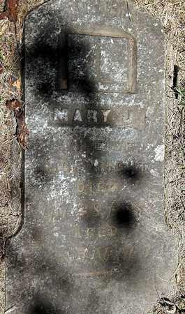 WRIGHT, MARY J - Calhoun County, Michigan | MARY J WRIGHT - Michigan Gravestone Photos