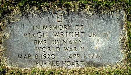 WRIGHT, VIRGIL JR - Calhoun County, Michigan | VIRGIL JR WRIGHT - Michigan Gravestone Photos