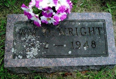 WRIGHT, WILLIAM D. - Calhoun County, Michigan | WILLIAM D. WRIGHT - Michigan Gravestone Photos