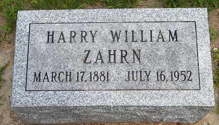 ZAHRN, HARRY W - Calhoun County, Michigan | HARRY W ZAHRN - Michigan Gravestone Photos