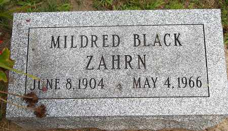 ZAHRN, MILDRED - Calhoun County, Michigan | MILDRED ZAHRN - Michigan Gravestone Photos