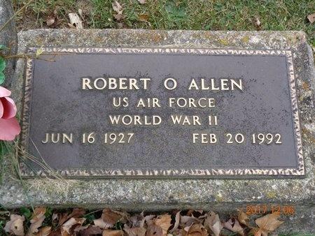 ALLEN, ROBERT O. - Clinton County, Michigan | ROBERT O. ALLEN - Michigan Gravestone Photos