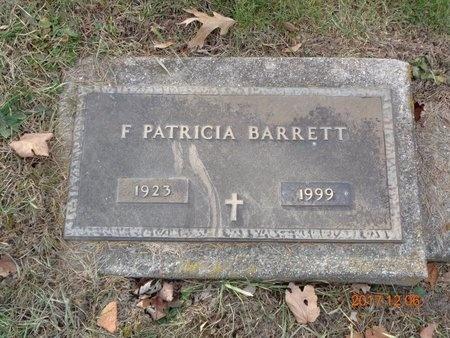 BARRETT, F. PATRICIA - Clinton County, Michigan | F. PATRICIA BARRETT - Michigan Gravestone Photos