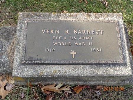 BARRETT, VERN R. - Clinton County, Michigan | VERN R. BARRETT - Michigan Gravestone Photos