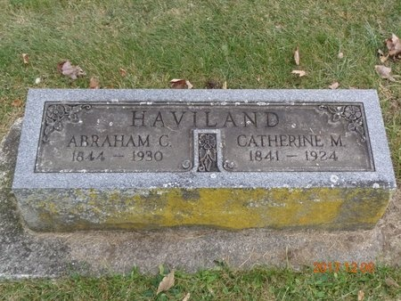 HAVILAND, CATHERINE M. - Clinton County, Michigan | CATHERINE M. HAVILAND - Michigan Gravestone Photos