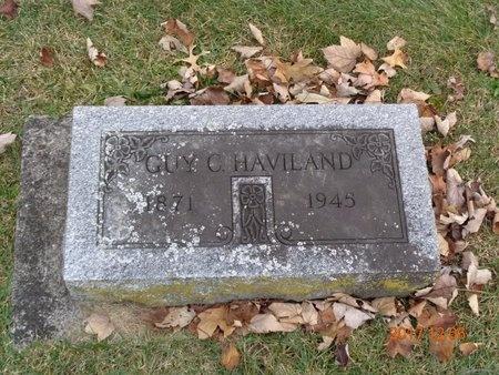 HAVILAND, GUY C. - Clinton County, Michigan | GUY C. HAVILAND - Michigan Gravestone Photos