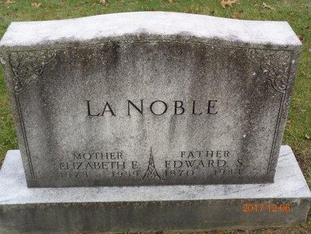 LA NOBLE, ELIZABETH E. - Clinton County, Michigan | ELIZABETH E. LA NOBLE - Michigan Gravestone Photos